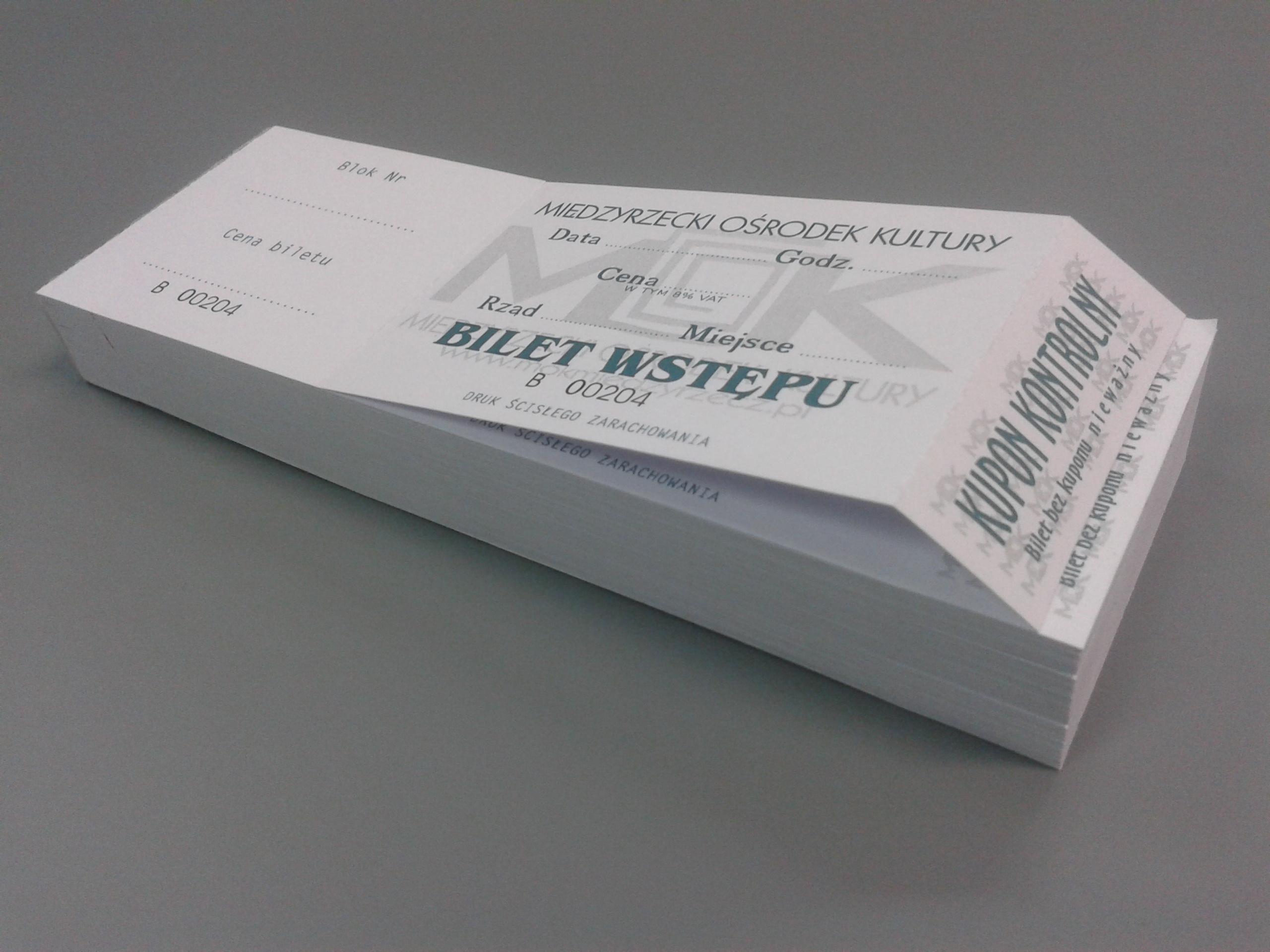 Bilety perforowane