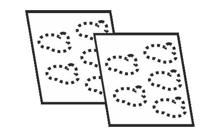 Naklejki foliowe na arkuszach Ikona
