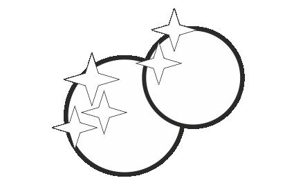 Naklejki na folii złotej lub srebrnej Ikona